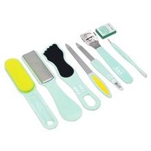 8 piezas kit de herramientas de pedicura profesional
