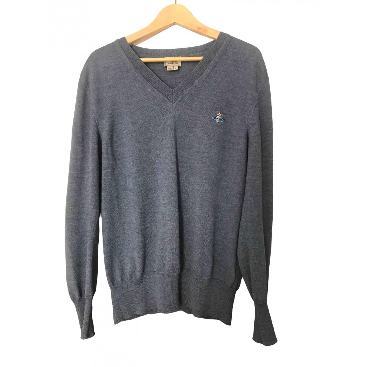 Vivienne Westwood \N Pullover.Westen.Sweatshirts  in  Blau Wolle
