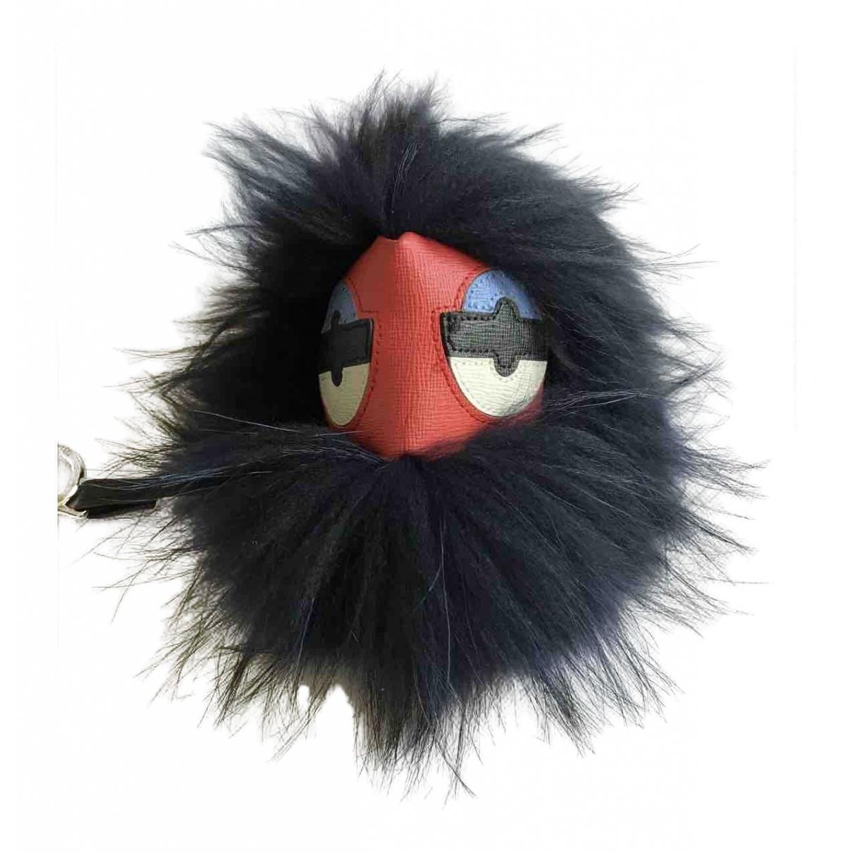 Fendi Bag Bug Red Fur Bag charms for Women \N