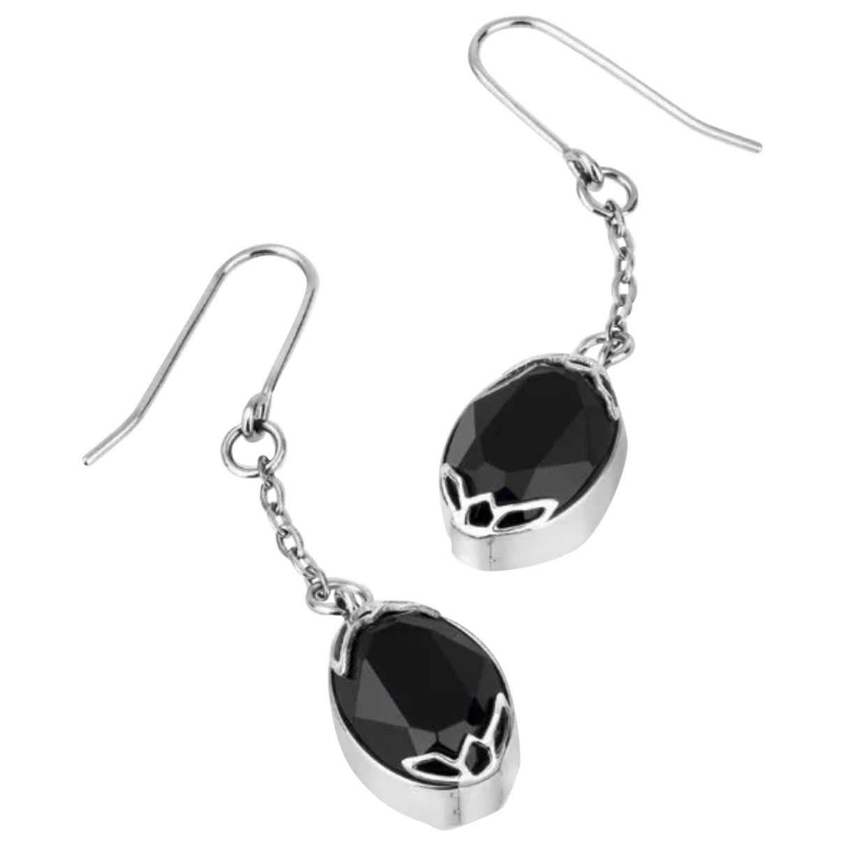 Swatch \N Black Steel Earrings for Women \N