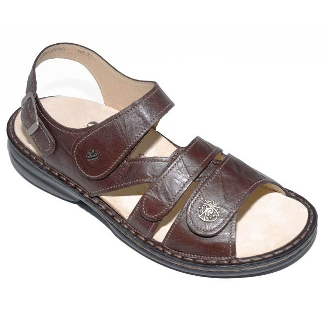 Finn Comfort Gomera Kaffee Leather Soft Footbed 43