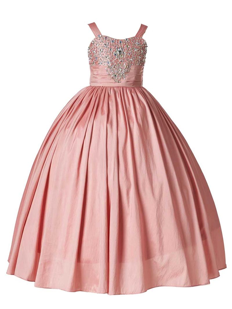 Ericdress Beautiful Straps Beaded Ball Gown Wedding Dress