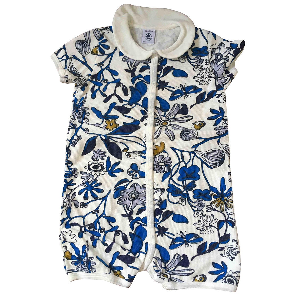 Petit Bateau \N Blue Cotton Outfits for Kids 2 years - up to 86cm FR