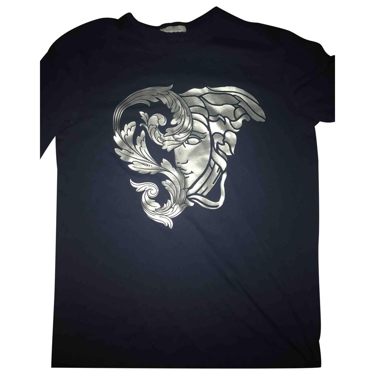 Versace \N Navy Cotton T-shirts for Men XS International