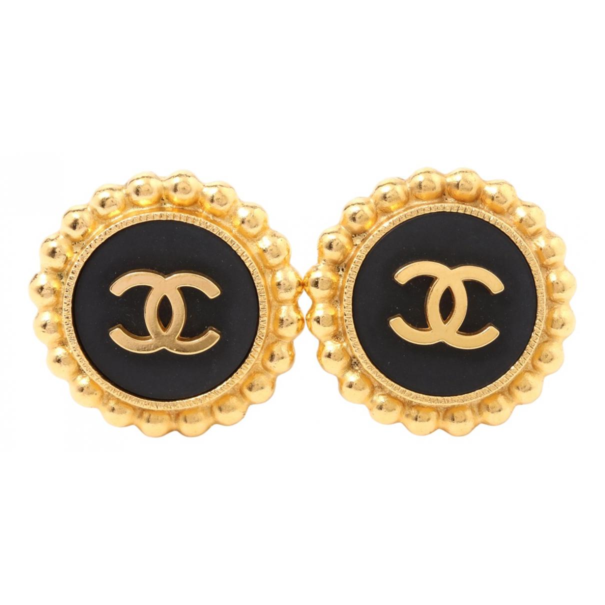Chanel \N OhrRing in  Gold Vergoldet