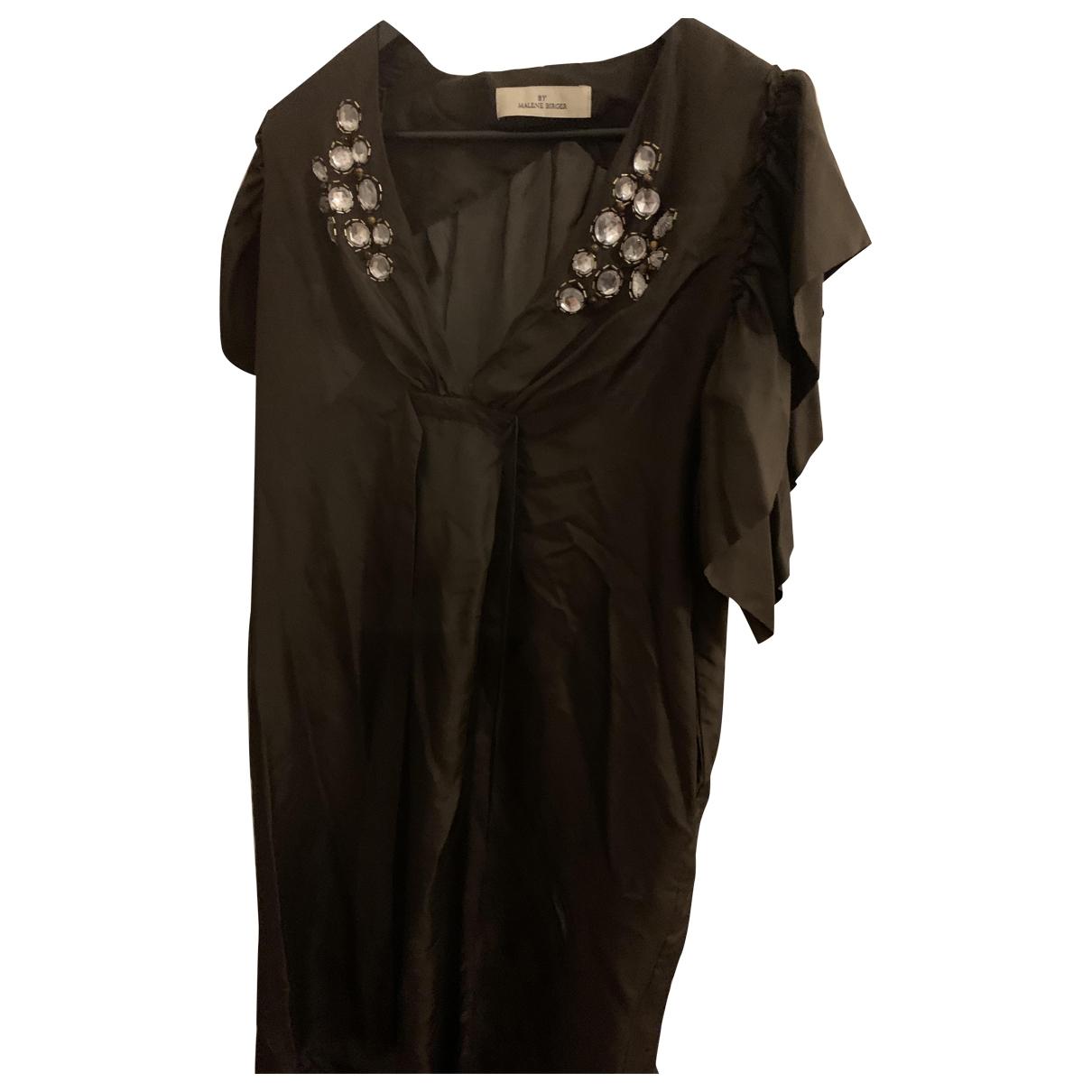 Vestido midi de Seda By Malene Birger