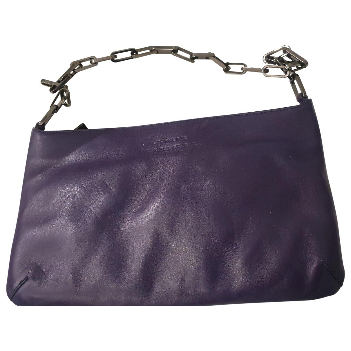 Strenesse - Pochette   pour femme en cuir - violet
