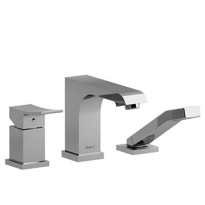 Zendo ZO16C 3-Piece Pressure Balance Deck Mount Tub Filler with Hand Shower  in