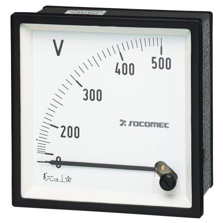 Socomec Analogue Voltmeter
