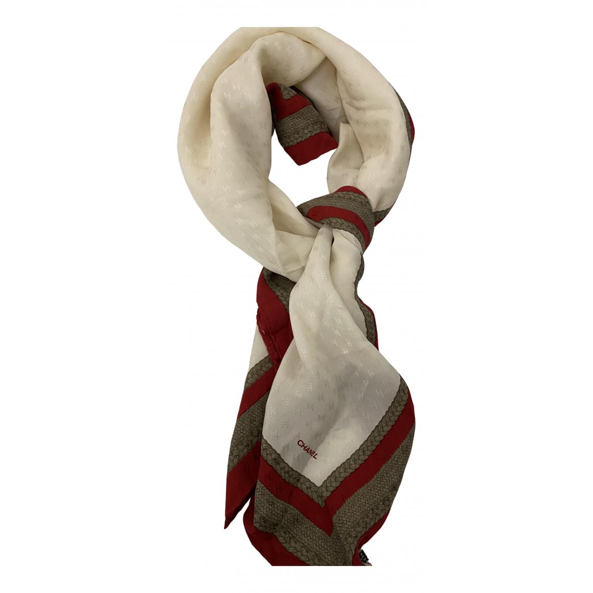 Chanel - Foulard   pour femme en soie