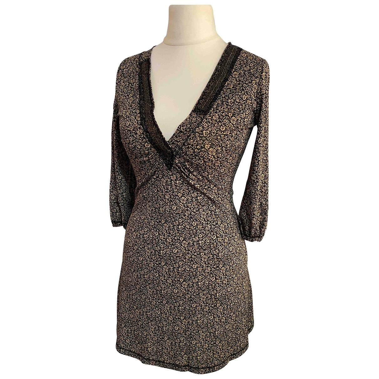 Liu.jo \N Beige Cotton dress for Women 40 IT
