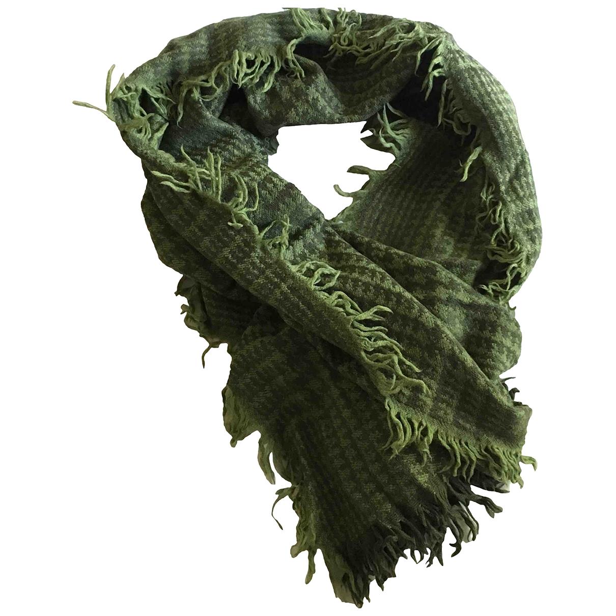 Etro - Foulard   pour femme en laine - vert