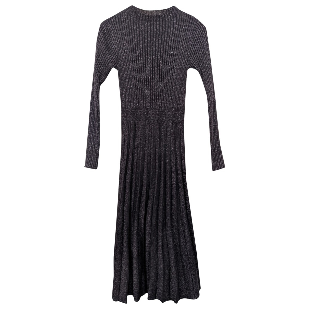 Non Signé / Unsigned \N Metallic dress for Women 36 FR