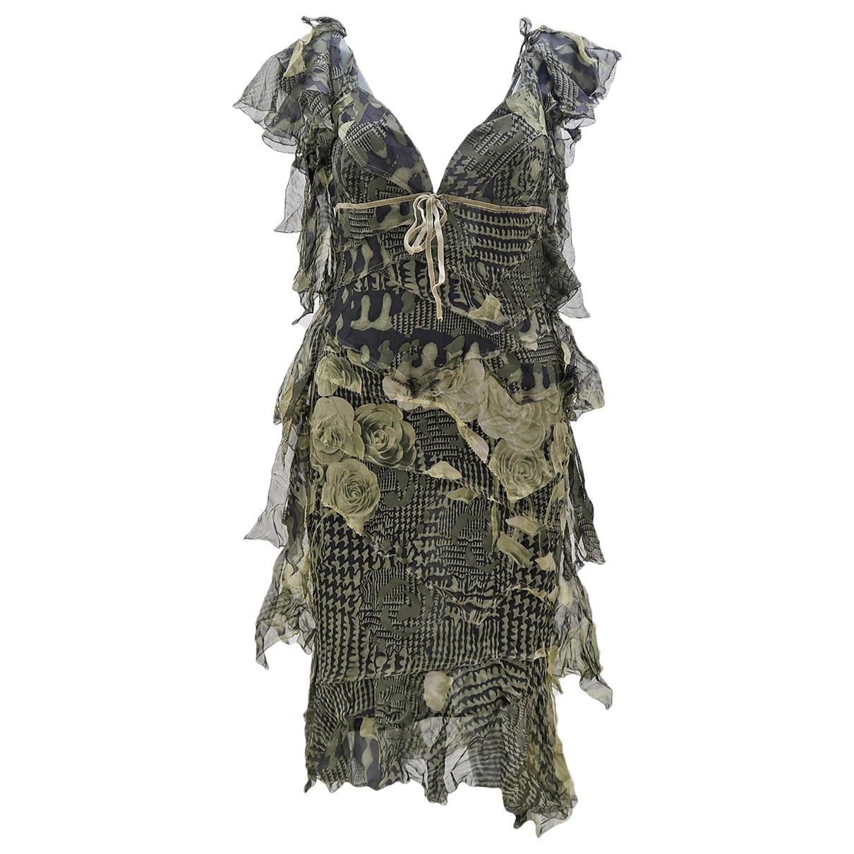 Antonio Berardi - Robe   pour femme en soie - multicolore