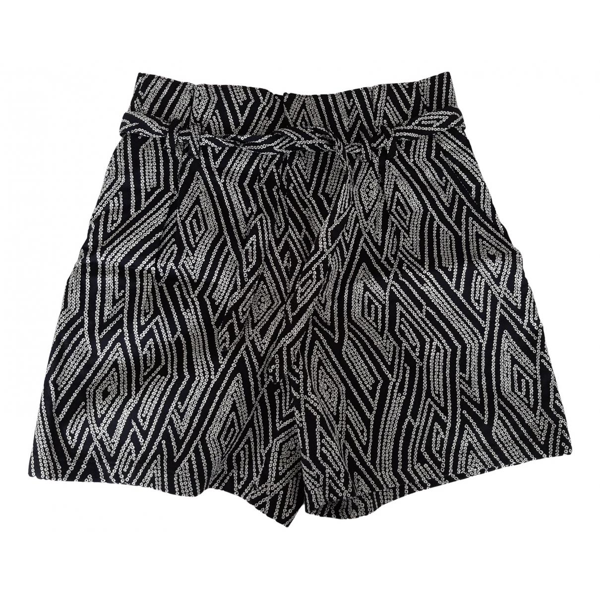Drykorn N Black Cotton - elasthane Shorts for Women M International