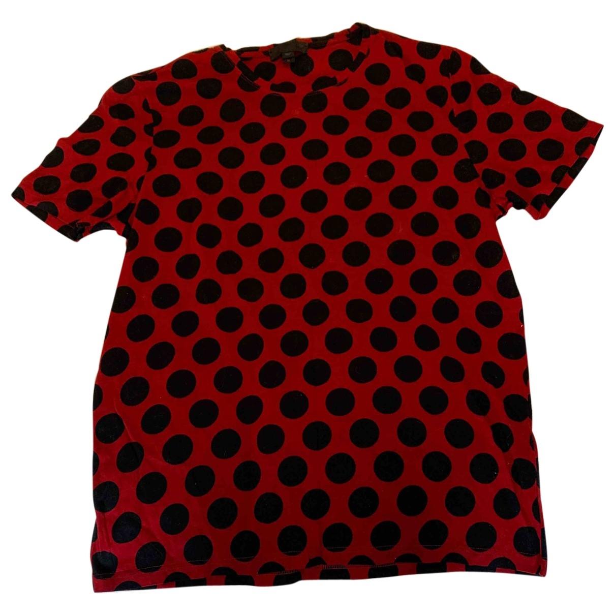 Burberry - Tee shirts   pour homme en coton - rouge