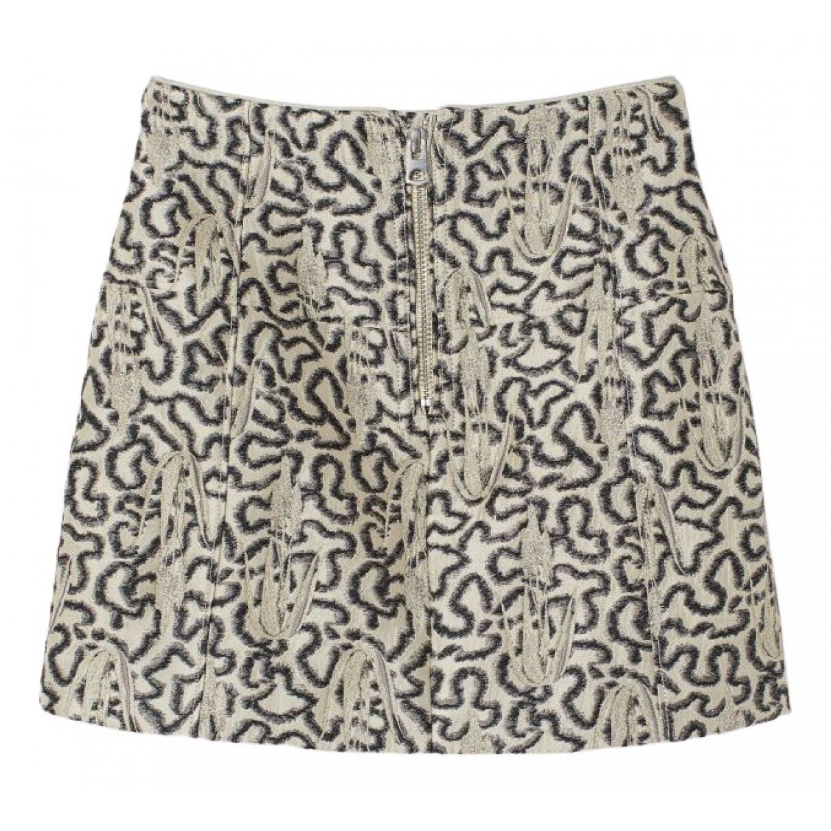 H&m Conscious Exclusive N Beige skirt for Women 6 UK