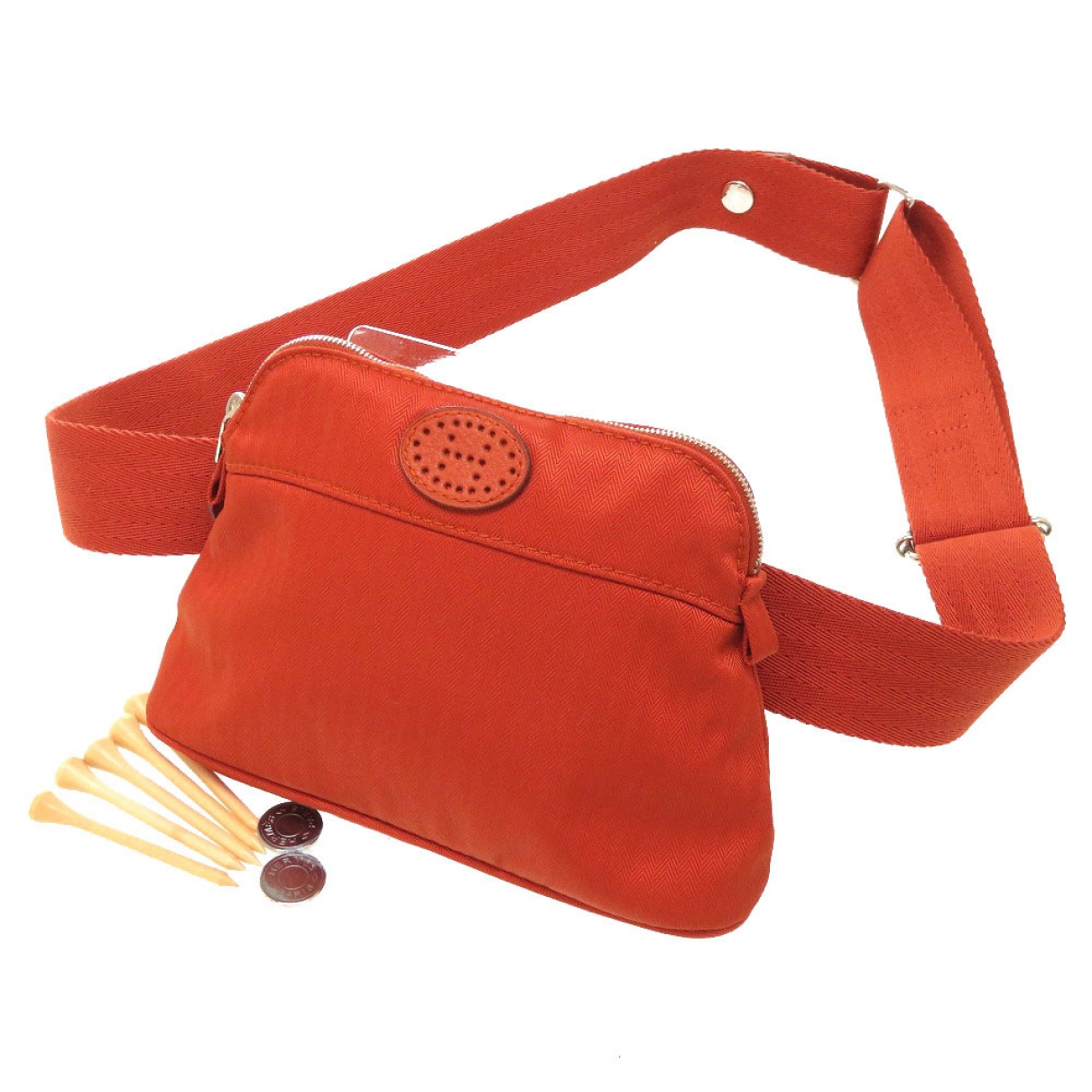 Hermes - Golf   pour lifestyle en coton - orange