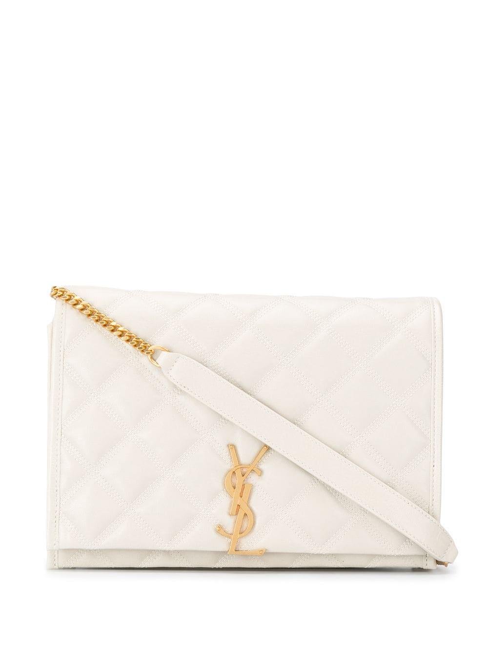 Monogram Leather Handbag
