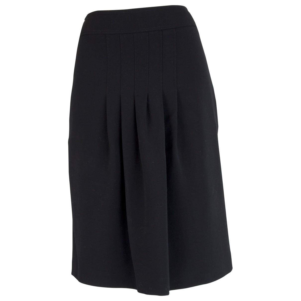 Burberry \N Black Wool skirt for Women 40 IT