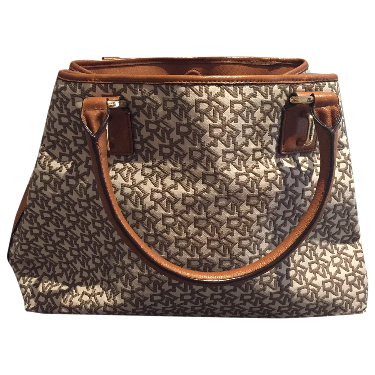 Dkny \N Beige Cloth handbag for Women \N