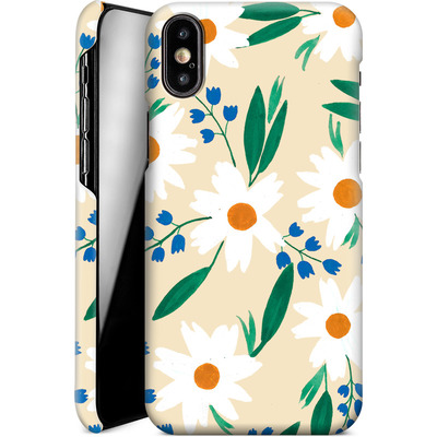Apple iPhone XS Smartphone Huelle - Daisy Chain von Iisa Monttinen
