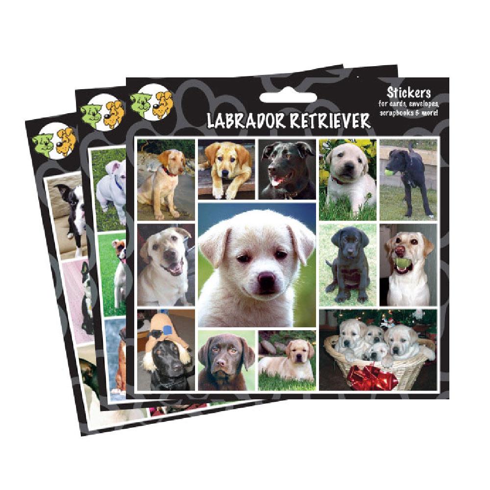 Arf Art Stickers - Poodle