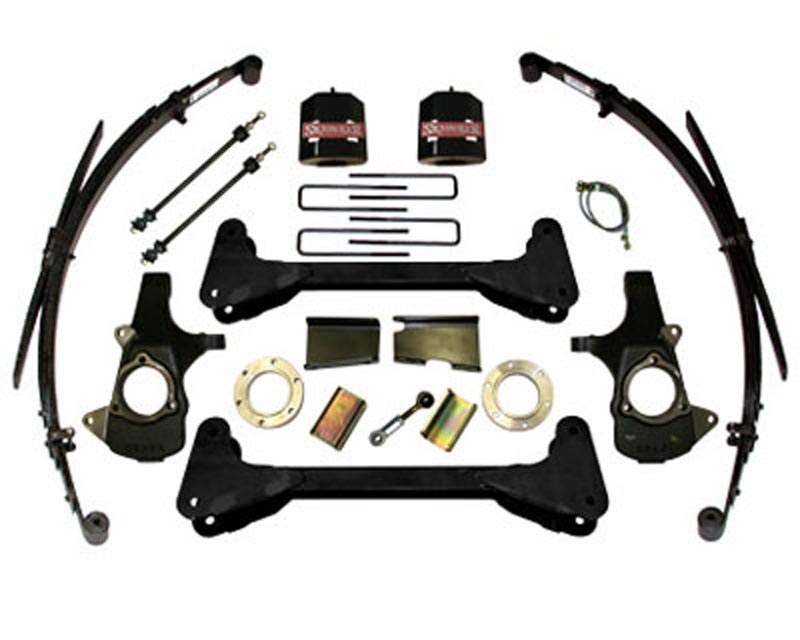 Skyjacker C7660PKS 6 Inch Lift Kit Chevrolet | GMC 1500 Trucks 4WD 07-12