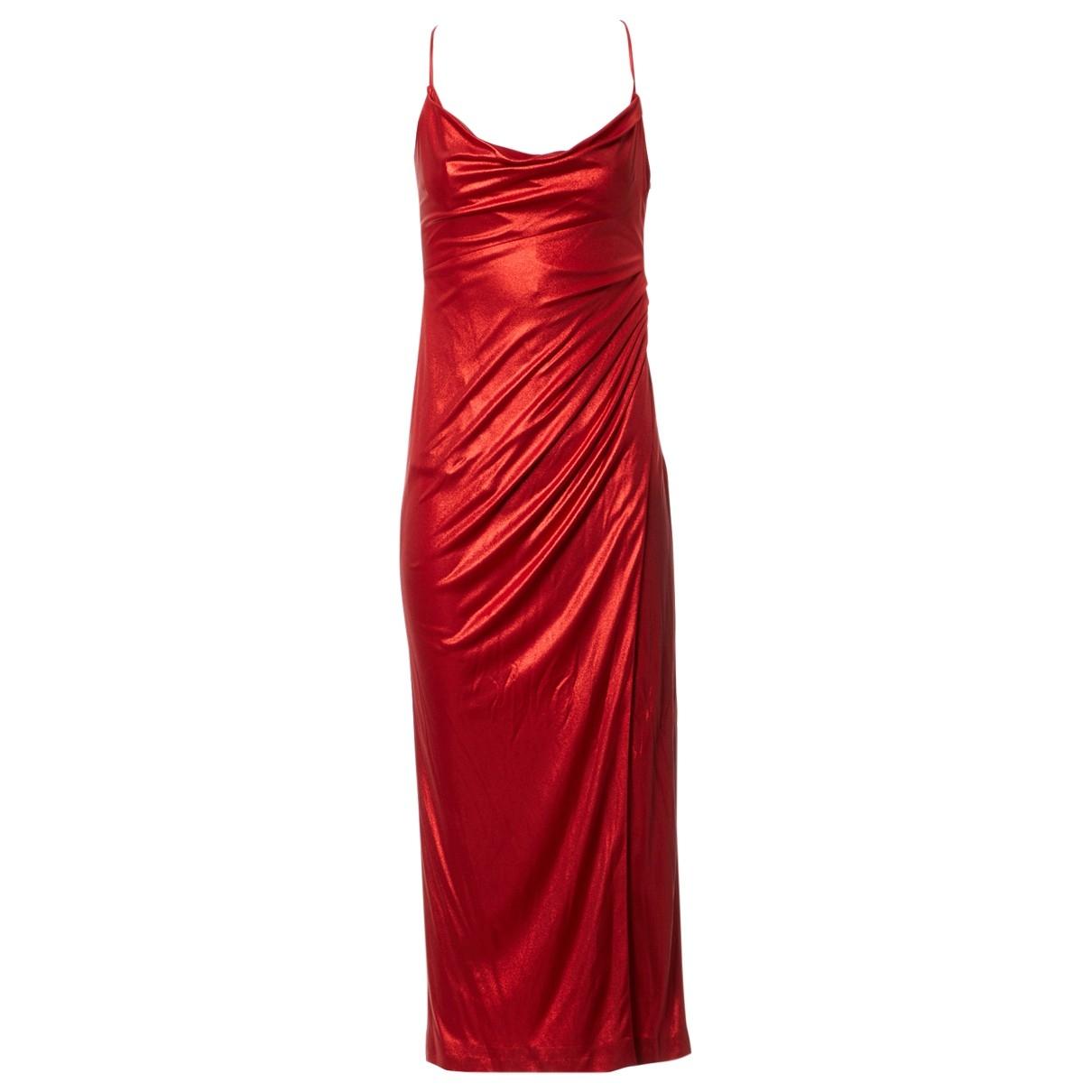 Galvan London \N Kleid in  Rot Viskose