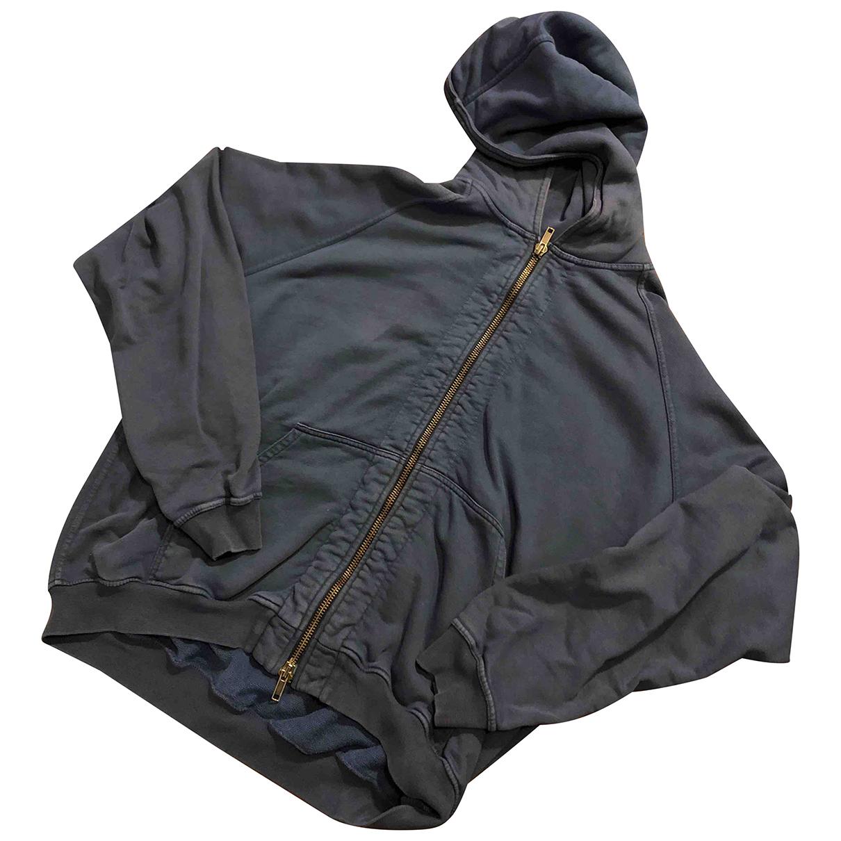 Haider Ackermann \N Pullover.Westen.Sweatshirts  in  Marine Baumwolle