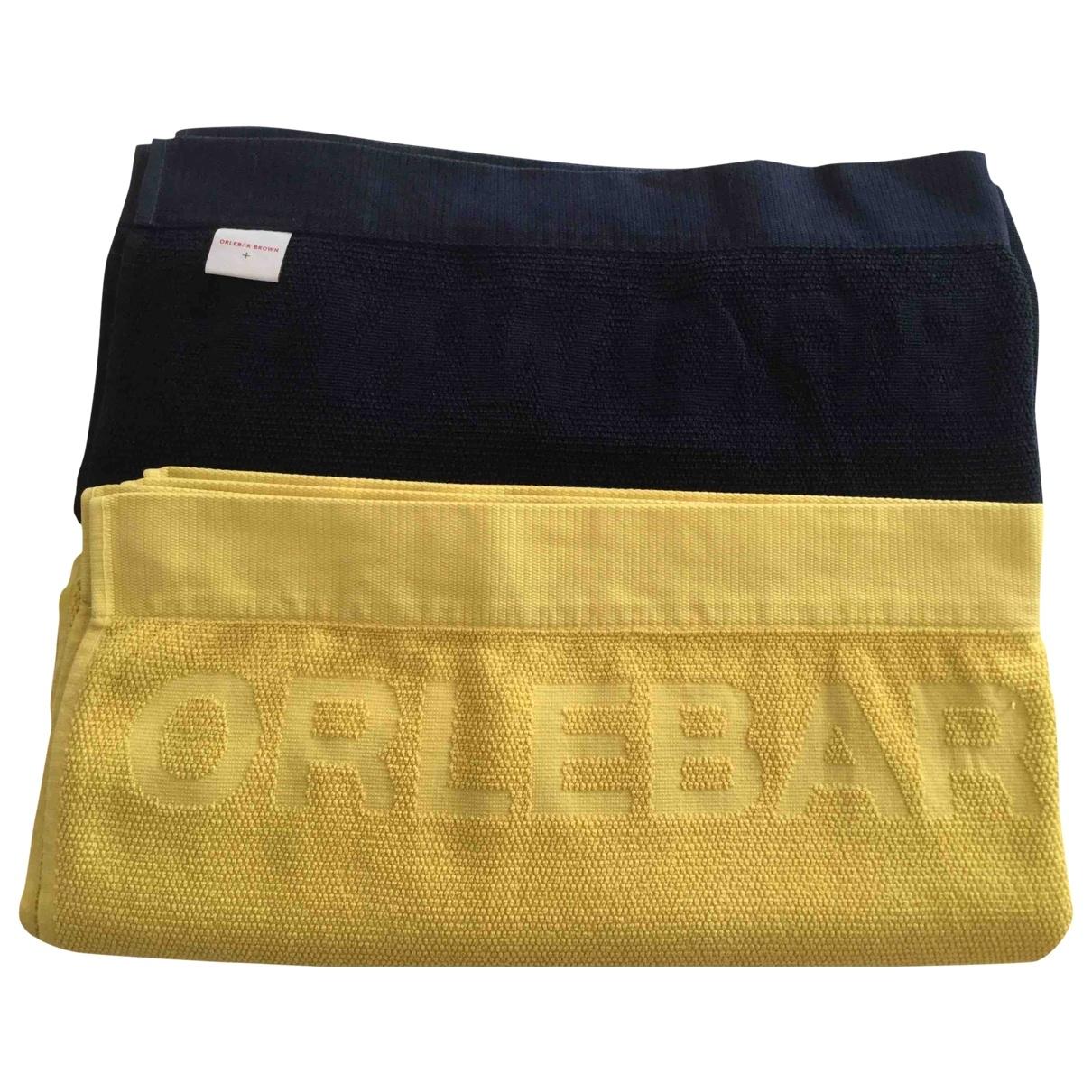 Orlebar Brown \N Heimtextilien in  Blau Baumwolle
