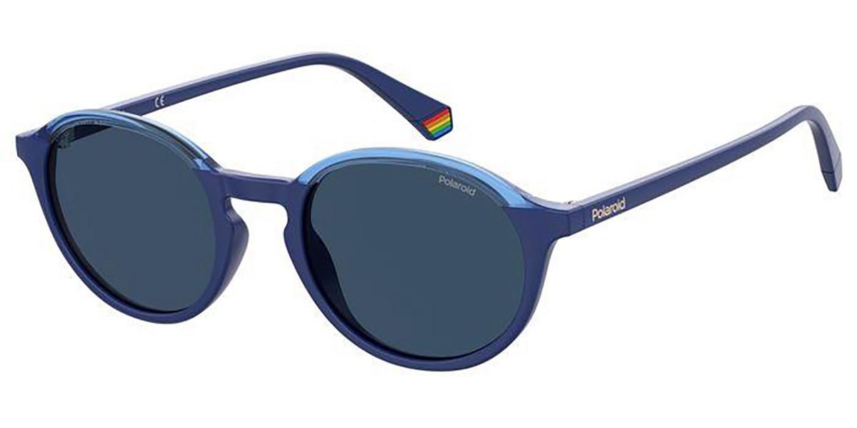 Polaroid PLD 6125/S PJP/C3 Mens Sunglasses Blue Size 50