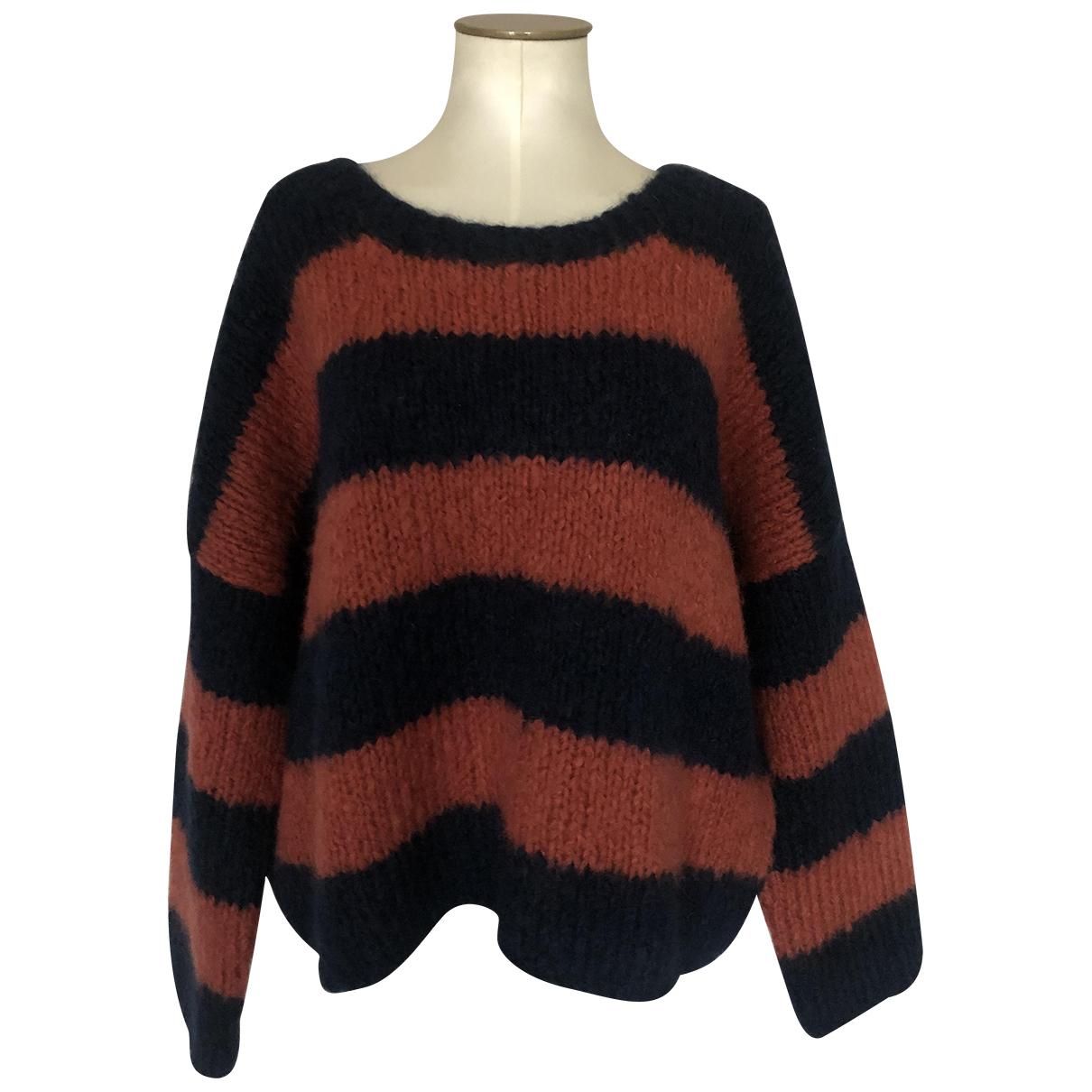 Chloe - Pull   pour femme en laine - multicolore