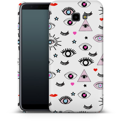 Samsung Galaxy J4 Plus Smartphone Huelle - Magic Eyes von Mukta Lata Barua