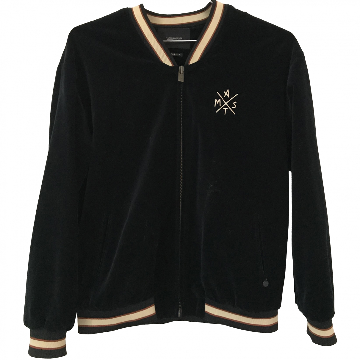 Maison Scotch \N Black Velvet jacket for Women M International
