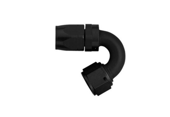 Aeroquip FCM4452 Universal #6 150 Deg Hose End Black