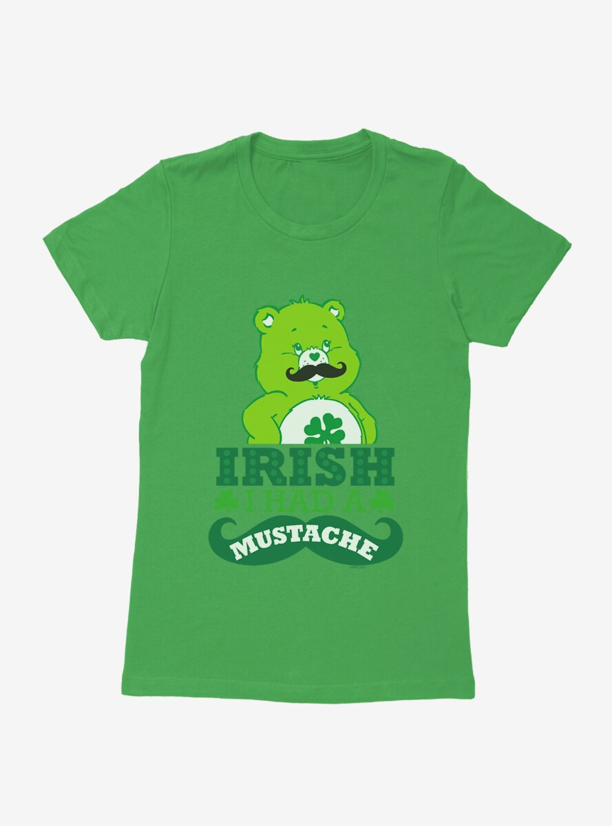 Care Bears Irish I Had A Mustache Womens T-Shirt