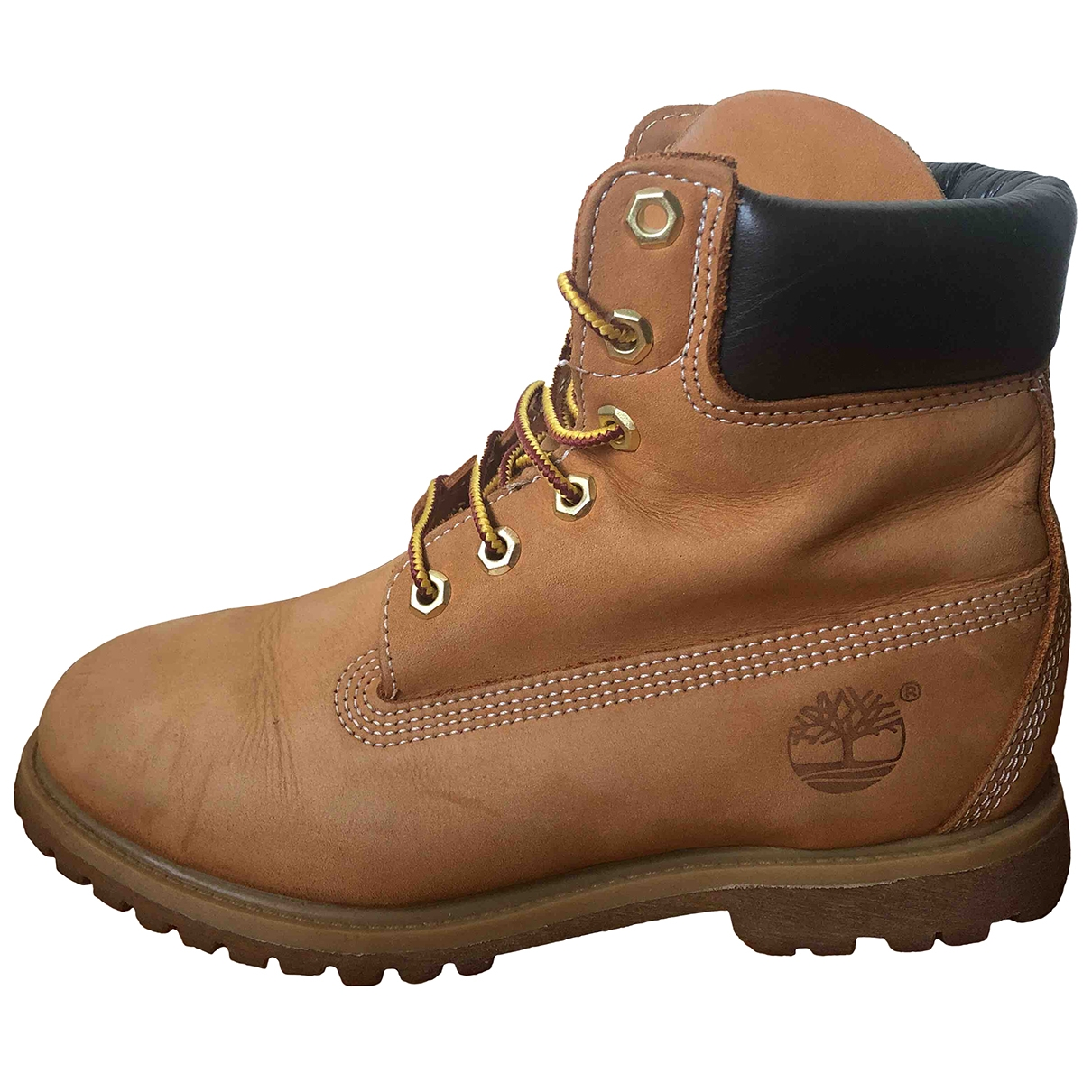 Timberland - Boots   pour femme en cuir
