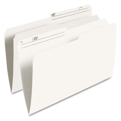 Pendaflex@ Reversible File Folders - Legal. 9-1/2-pt. Ivory. 10% post-consumer fibre.