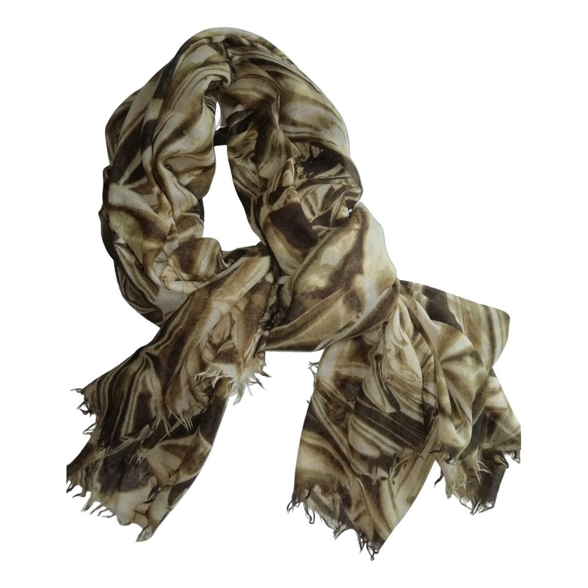 Stella Mccartney \N Schal in  Gruen Wolle