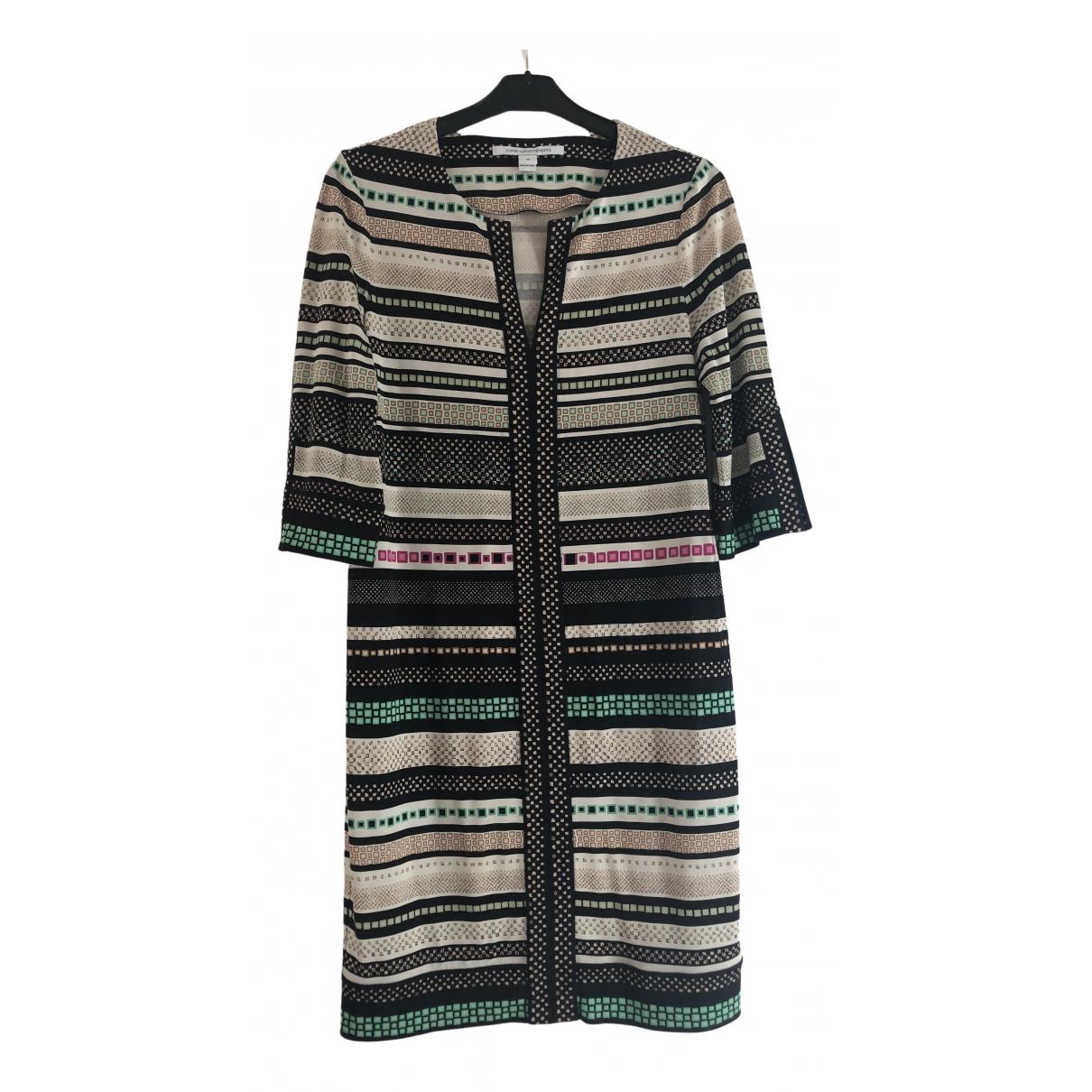 Diane Von Furstenberg \N Kleid in  Bunt Seide