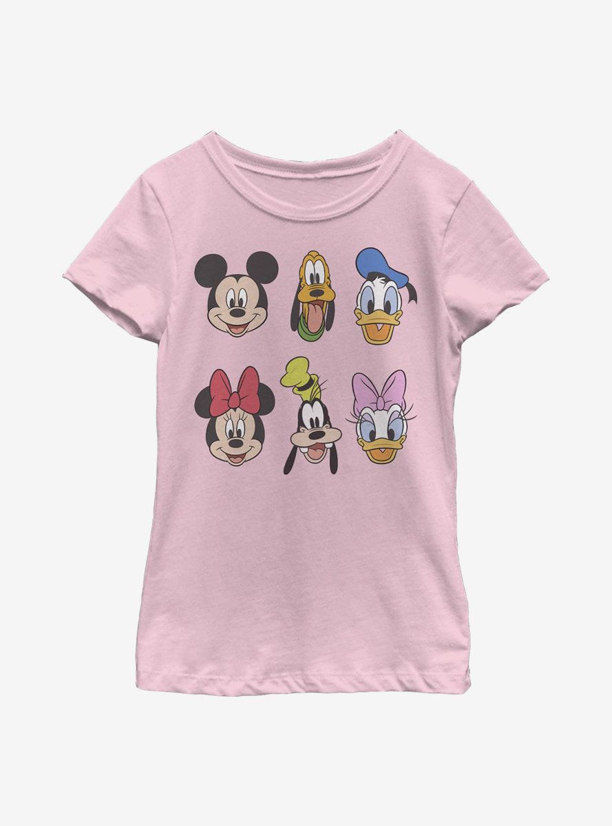 Disney Mickey Mouse Always Trending Stack Youth Girls T-Shirt