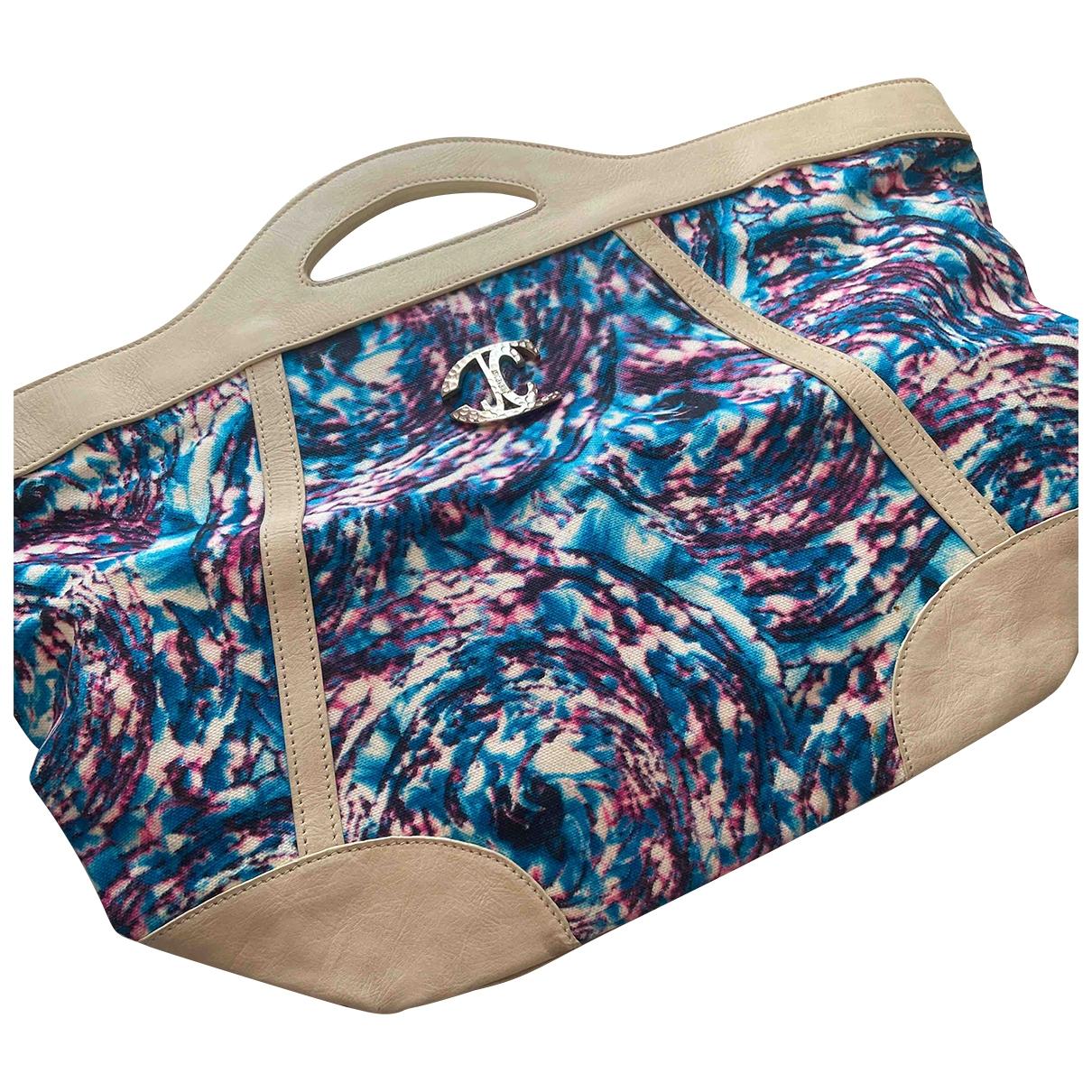 Just Cavalli \N Turquoise Leather handbag for Women \N
