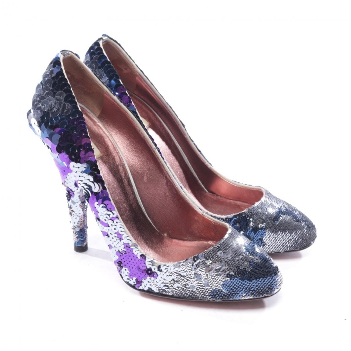 Miu Miu \N Multicolour Glitter Heels for Women 36 EU