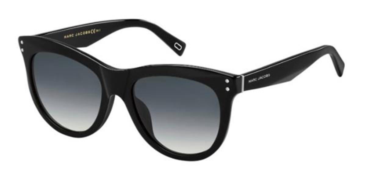 Marc Jacobs MARC 118/S 807/9O Women's Sunglasses Black Size 54