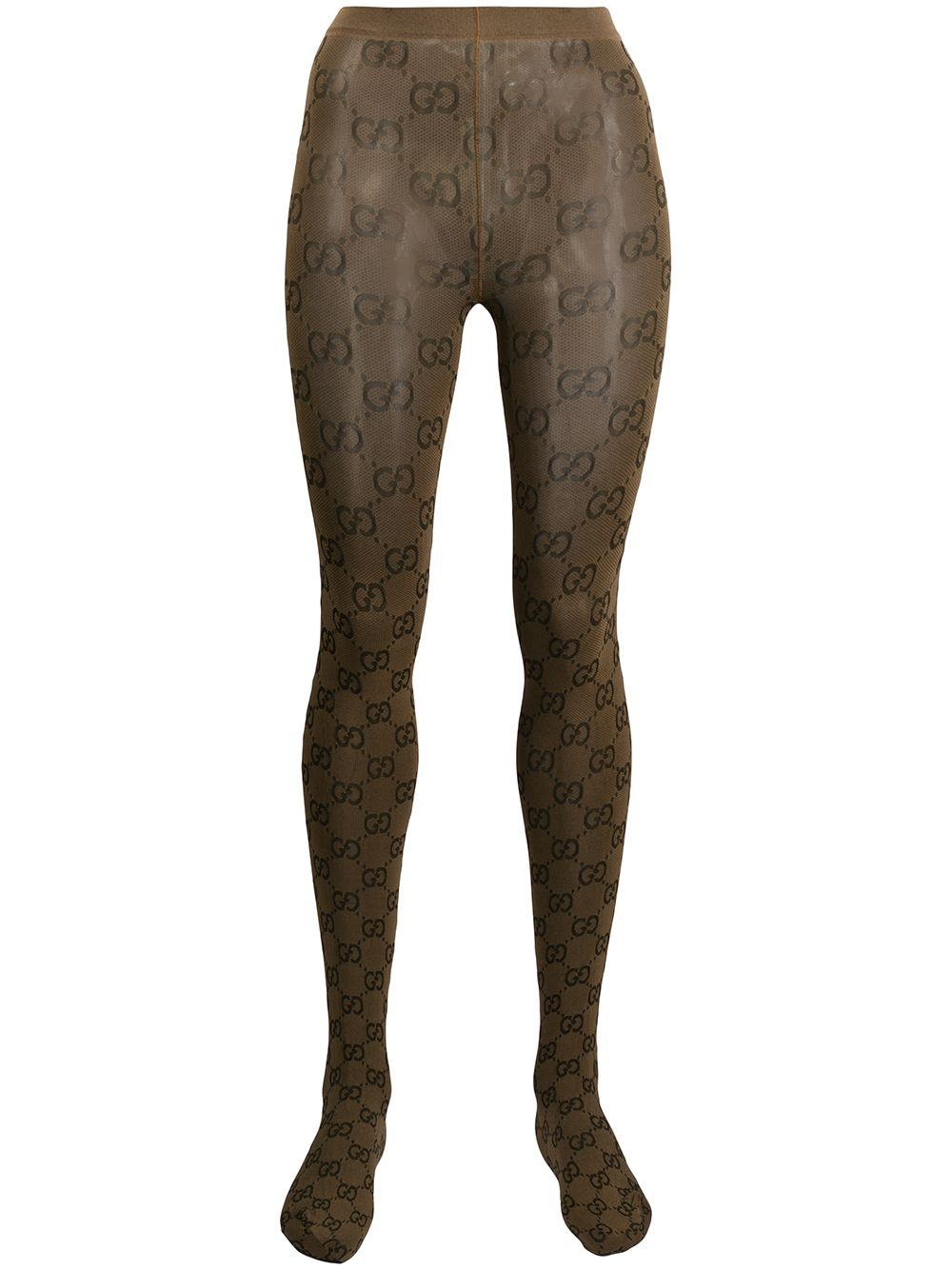 Gg Pattern Tights