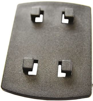 Bopla Self-adhesive Fitting 42.4 x 56.7 x 8.7mm for use with Universal Adapter UGA-1