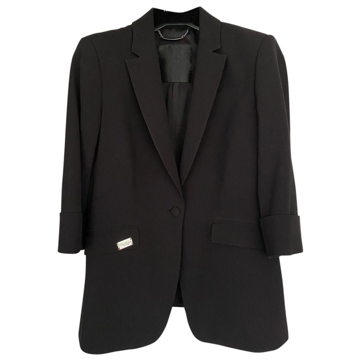 Philipp Plein \N Black jacket for Women M International