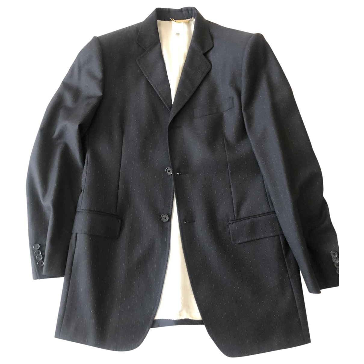Dolce & Gabbana \N Black Wool Suits for Men 50 IT