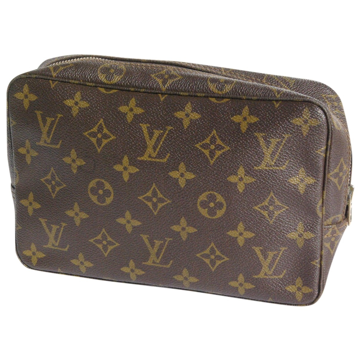 Louis Vuitton Trousse de Toilette  Brown Cloth Travel bag for Women N